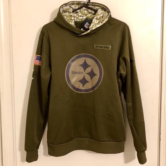 steelers army sweatshirt